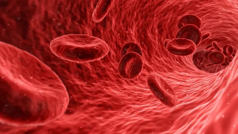 The type of blood we carry around has hidden consequences, a new study  suggest. Illustration: qimono (Pixabay)