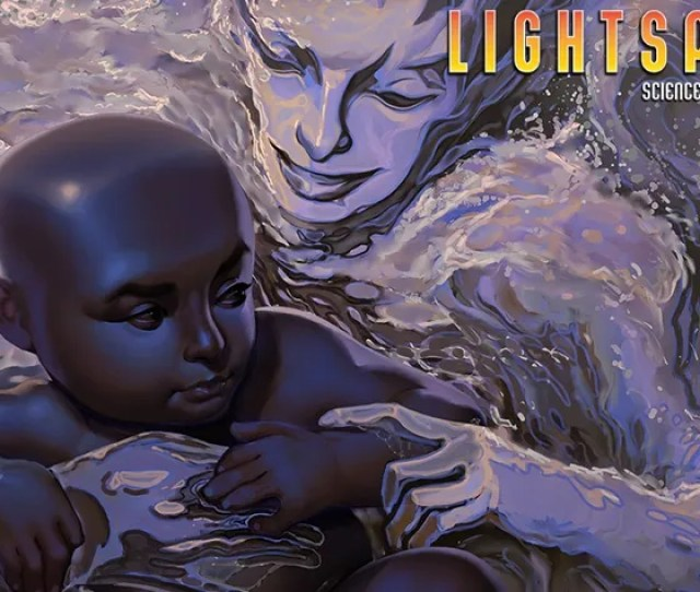 Illustration For Article Titled Lightspeed Presents A Love Story Written On Water