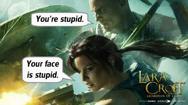 ​Gaming and Misbehaving: Lara Croft and the Guardian of Light