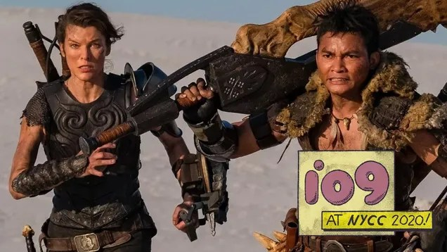 zusz3vhn9d3agzreaez2 Watch Milla Jovovich Meet a Greater Rathalos in This Monster Hunter Clip | Gizmodo