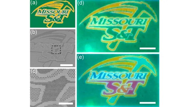 An Inkless Printer Makes Color Images With Tiny Microscopic Holes