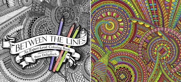 A Coloring Book For Those Who've Mastered Staying Inside the Lines