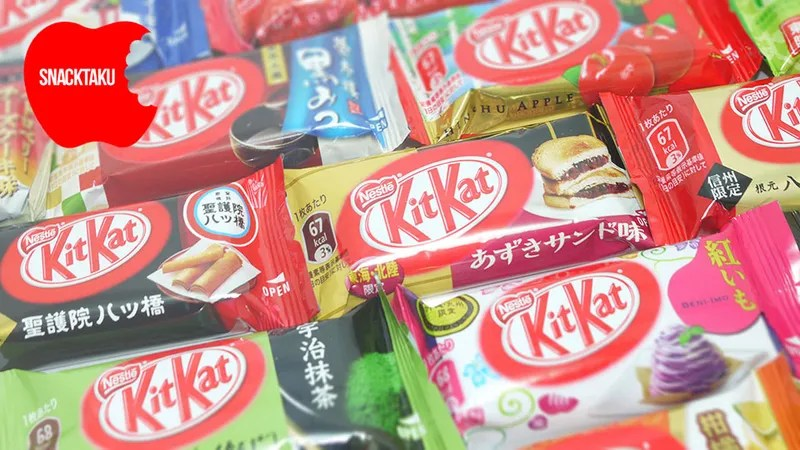International Kit Kat Flavors