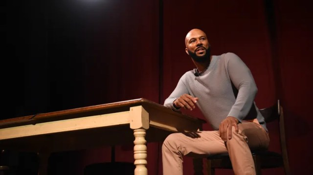 Common performs during Common's Let Love: An Expression Of Art, Words & Song on May 06, 2019 in New York City.