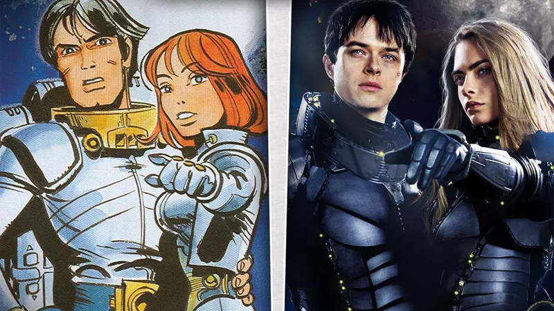 Image result for valerian and the city of a thousand planets poster
