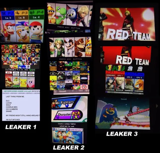Huge Potential Leak May Reveal Full Smash Bros. Roster