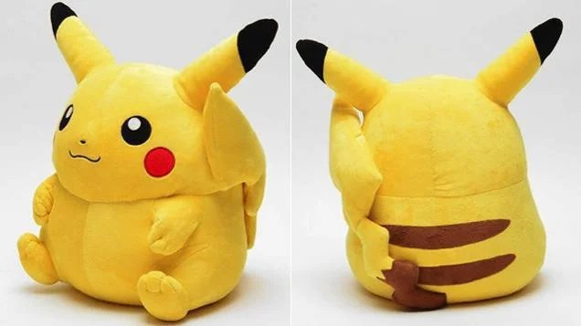 A Life-Sized Pikachu Plush Toy Is Going On Sale