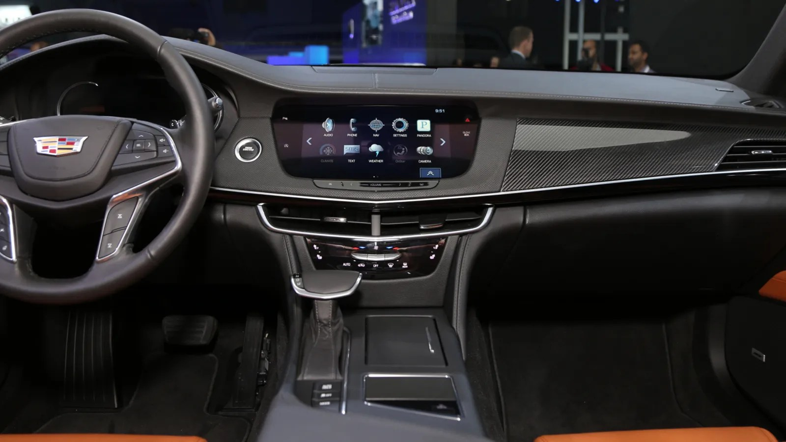 The 2016 Cadillac CT6s Interior Dials Down The Crazy And