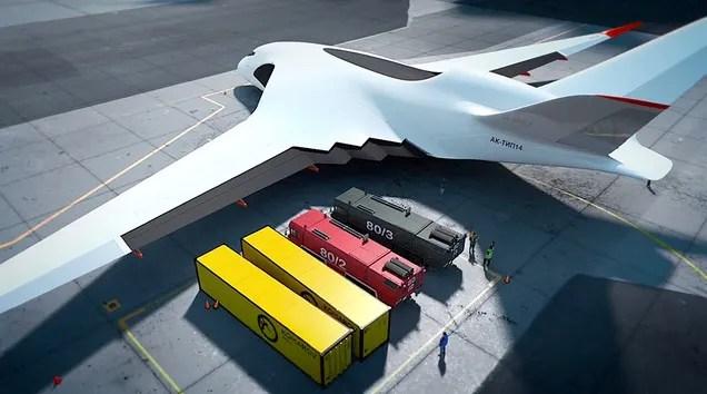 El plan de Rusia para construir el avión de carga más grande del mundo