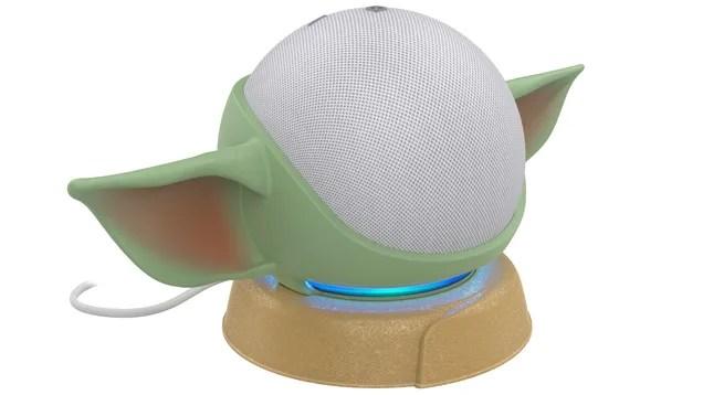 oldunqozump5iun57adl Turn Your Amazon Echo Dot Into an Aging Baby Yoda With Male Pattern Baldness   Gizmodo