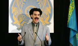 Sacha Baron Cohen presents to pay fines for followers who wore Borat swimsuits in Kazakhstan