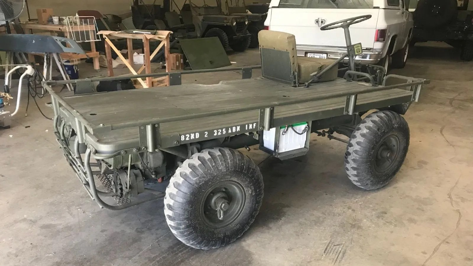This Willys Mechanical Mule Is Your Perfect Haul All