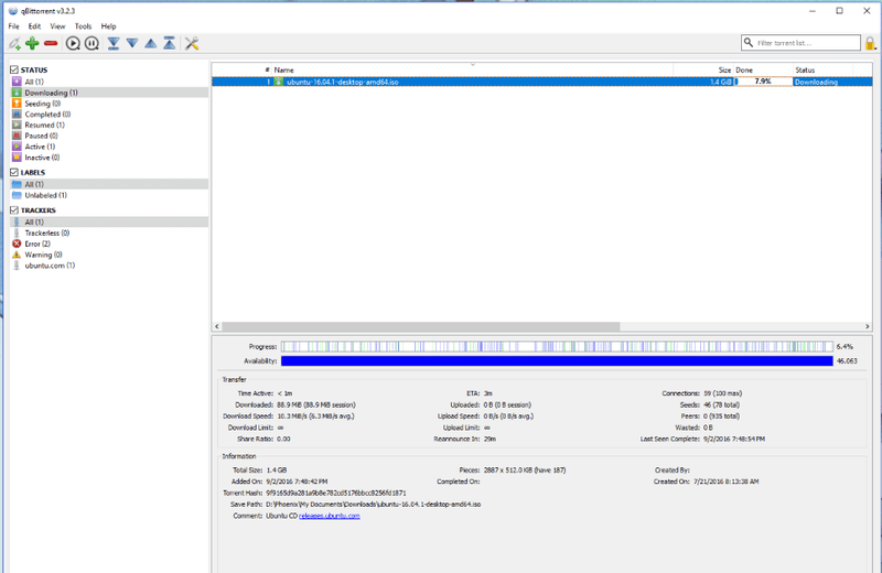 Torrenting Showdown: Transmission vs qBitorrent vsµTorrent