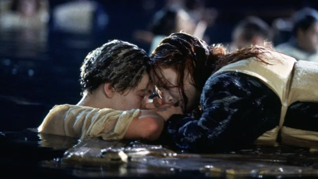 Illustration for article titled Coward Leonardo DiCaprio Refuses to Comment on Longstanding Titanic Small Door Controversy