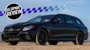 Here's Why The 2018 MercedesAMG E63 S Wagon Is Still The God King Of Cars