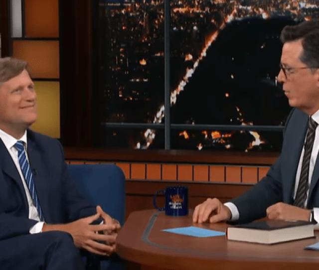 Michael Mcfaul Stephen Colbert Screenshot The Late Show With Stephen Colbert