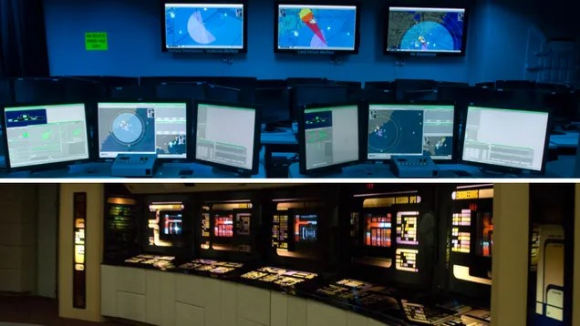 The Navy's Newest Linux-Powered Command Center Is Right Out Of Star Trek