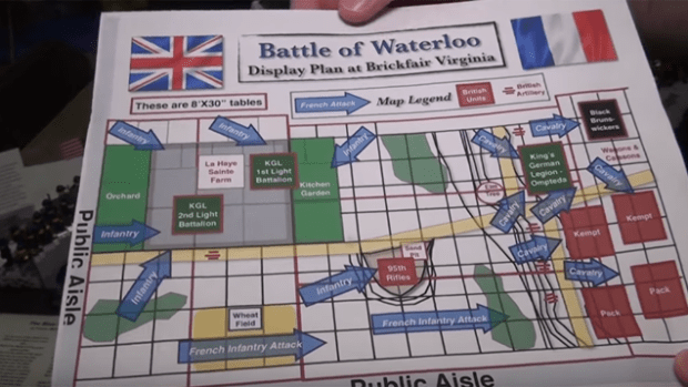 The Battle of Waterloo With 2,134 Lego Minifigs - Forum