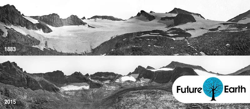 You Can Barely Even See Yellowstone's Largest Glacier Anymore