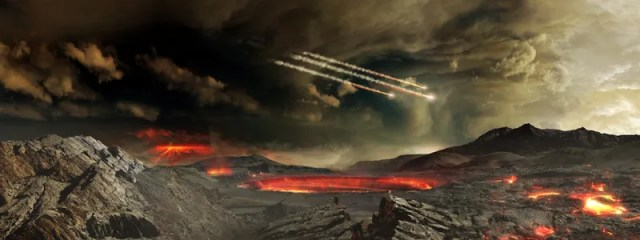 Beberapa Bencana Besar Yang Terjadi Sebelum Adanya Manusia
