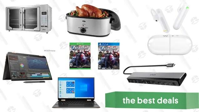 jrhemycxrtp1qxkugh7j Saturday's Best Deals: Oster Kitchen Appliances, Vava 12-in-1 Docking Station, WT2 Language Translator Earbuds, Marvel's Avengers, HP Spectre 360x Laptop, and More   Gizmodo