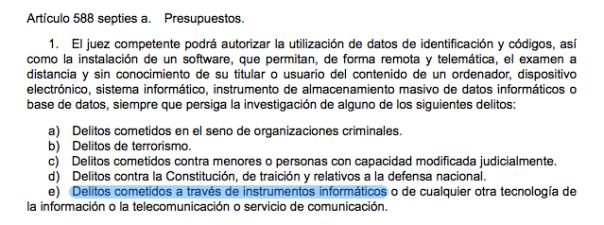 Aprobada la Ley de Enjuiciamiento Criminal: así afecta a tu privacidad