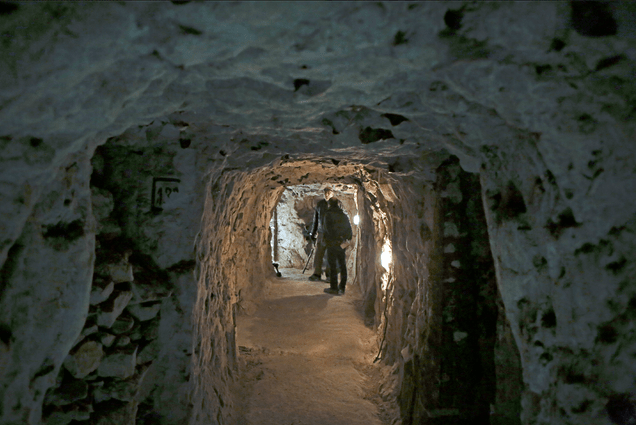 Haunting Traces Of WWI Soldiers Found In Medieval French Tunnels