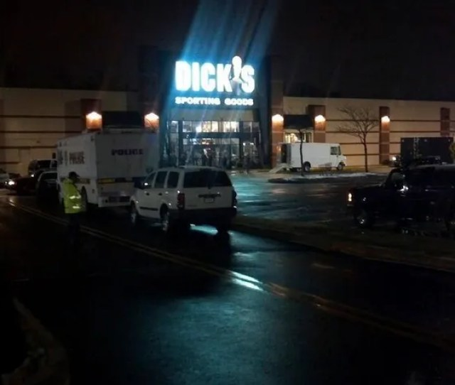 Last Night Around 7 P M 58 Year Old Mark Mccarpy Walked Into Dicks Sporting Goods In Fairless Hills Pennsylvania And Asked To See A Shotgun And