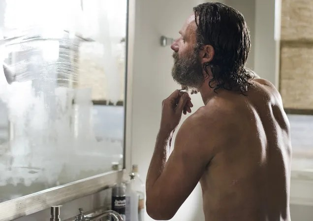 Rick's Beard Dies So Others May Live On The Walking Dead