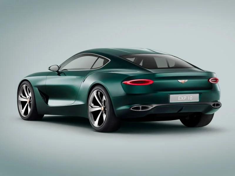 Bentley Plans To Copy Porsche's Electric Tesla Fighter