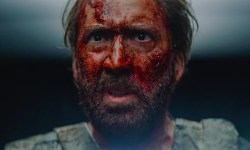 "Is there something extra ""midnight film"" than Nicolas Cage in a chainsaw combat?"