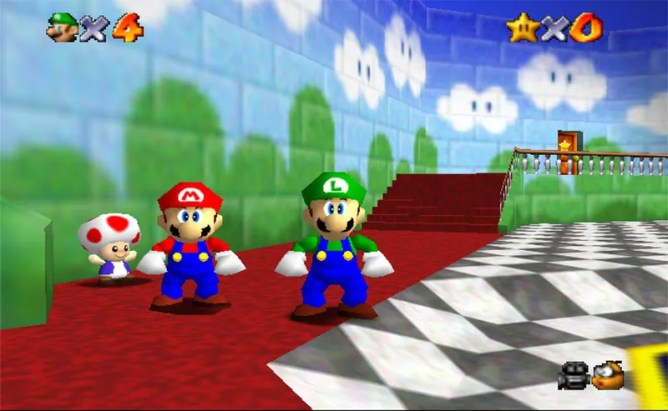 Image result for 3.) Super Mario 64 (1996)