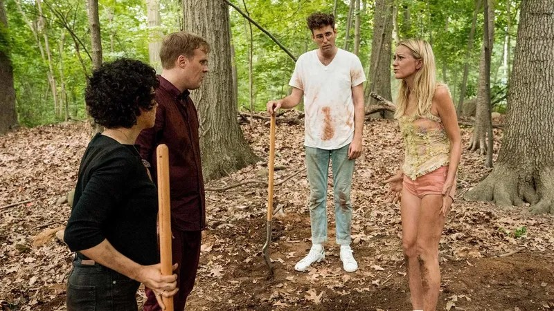 The 2nd Season Of Search Party Starts Digging A Grave, But