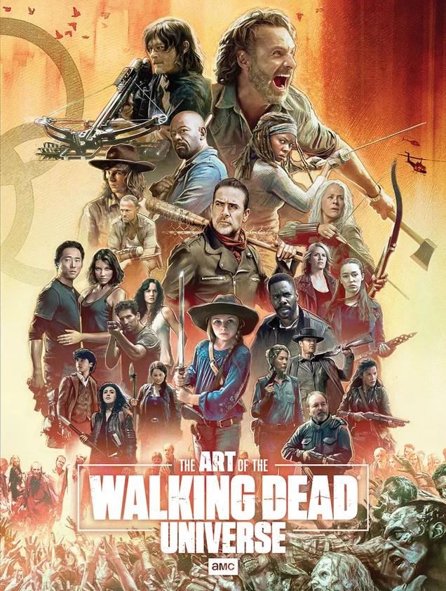 9218e9ed3257421871712da59126a7ac The Walking Dead Universe Book Cover Revealed by AMC Networks | Gizmodo