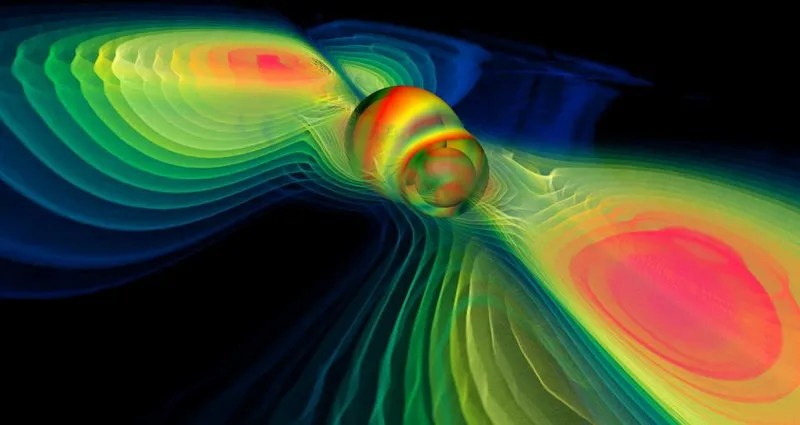 Two Black Holes are About to Smash Into Each Other