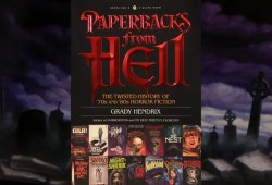 Paperbacks From Hell is as wild as its supply materials
