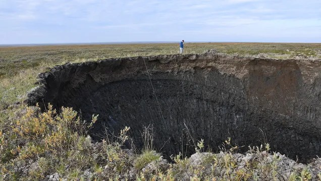 ksrxtnhndwzhletnzy7m Siberia's Newest Exploding Crater Has Been Mapped in 3D | Gizmodo