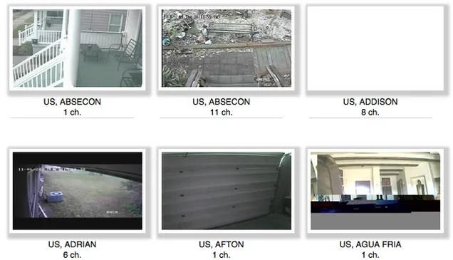 A Creepy Website Is Streaming From 73,000 Private Security Cameras
