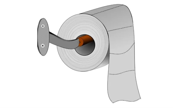 This is The Right Way to Hang Toilet Paper  According to Science How do you hang your toilet paper  The age old question whether the    right     way to have the end going over the top of the roll or under  coming from  the