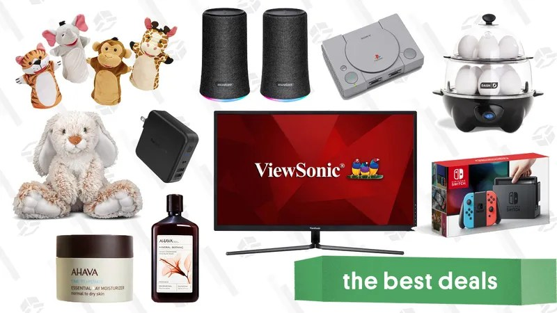 Illustration for article titled Tuesday's Best Deals: Tuft & Needle Mattresses, Nintendo Switch Bundle, Ahava, and More