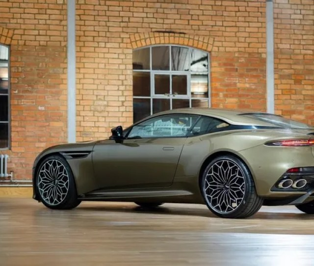 Illustration For Article Titled This Aston Martin Has Most Excellent Wheels