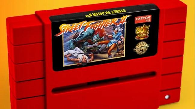 SNES Street Fighter 2 Capcom