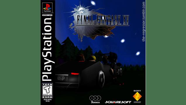 Final Fantasy XV... As A PlayStation 1 Game