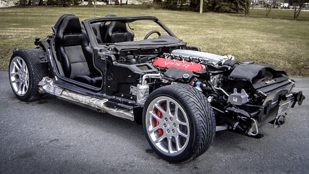 This Stripped Dodge Viper Is The Go-Kart Project Of Your Nightmares