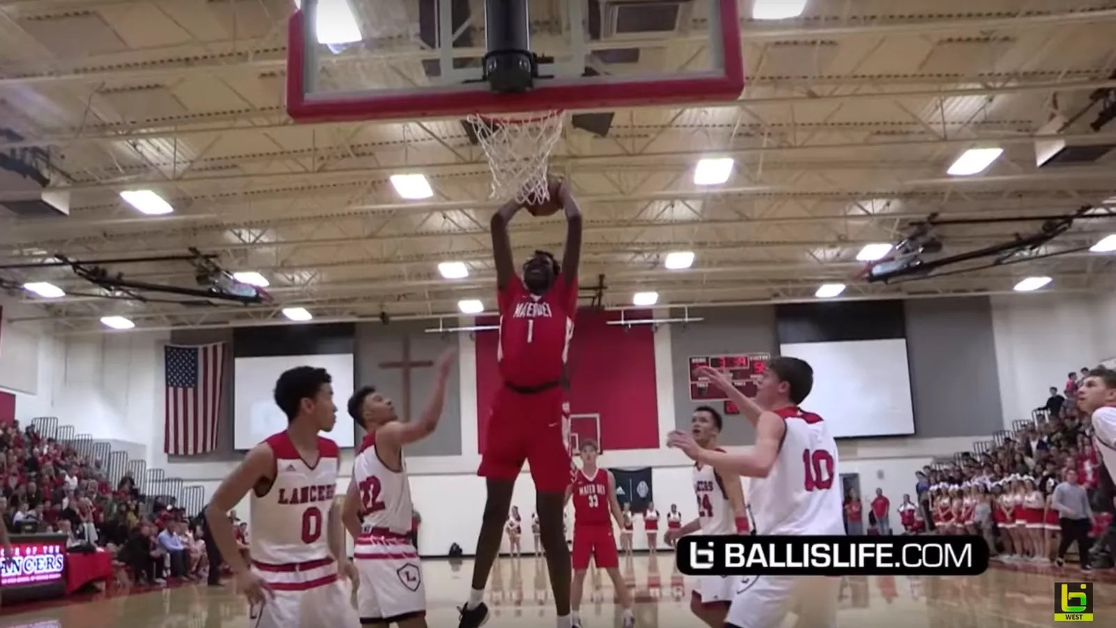 Bol Bol Manute Bol S 17 Year Old Son Is Already A Beast