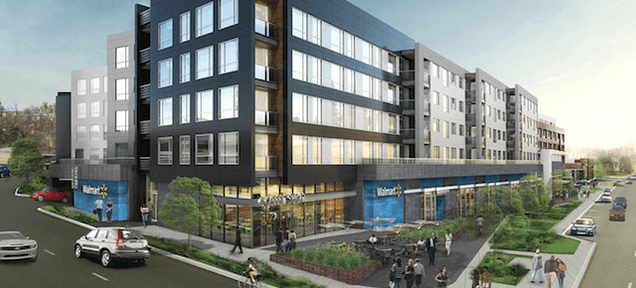 Walmart Is Downsizing Its Superstores and Putting Apartments on Top