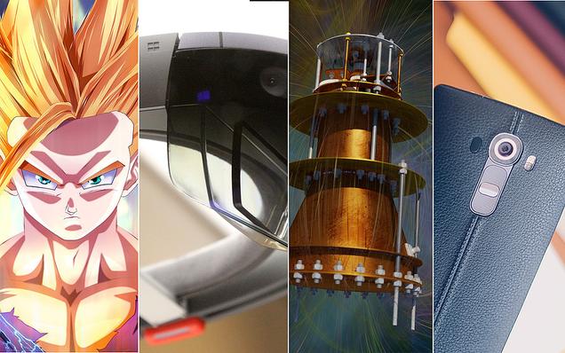 Hologramas, Dragon Ball y motores imposibles, lo mejor de la semana
