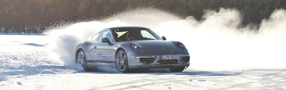 Silver 911 snow donuts