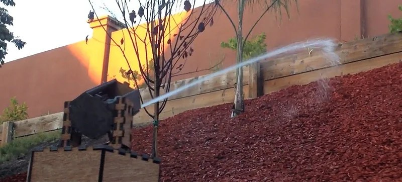 A Sniping Sprinkler That Only Targets Your Plants When They Need Water