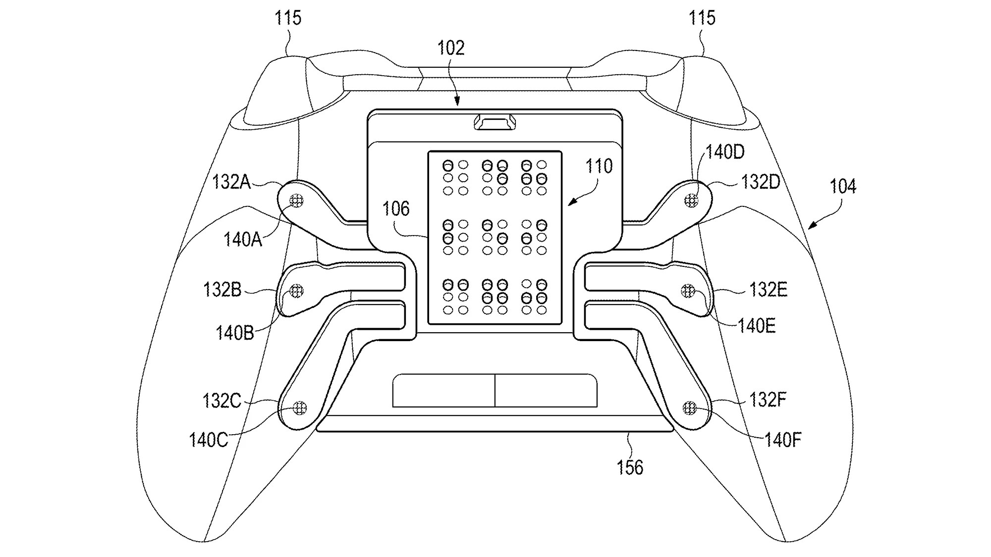 Microsoft Patent Imagines An Xbox Controller Customised For Gamers With Visual Impairment